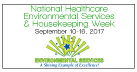 Environmental Services & Housekeeping Week