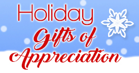 Holiday Gifts Of Appreciation