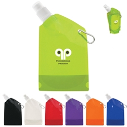 12 Oz. Collapsible Bottle 12 Oz. Collapsible Bottle, 12 oz, Collapsible, budget, cheap, inexpensive, Bottle, Water, Flat, Walk, Event, Events, Runs,Imprinted, Personalized, Promotional, with name on it, Gift Idea, Giveaway,