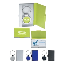 2 In 1 Key Tag/Business Card Holder 2 In 1 Key Tag/Business Card Holder, Key Tag, and, with, Business Card Holder, Imprinted, Personalized, Promotional, with name on it, giveaway,