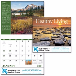 2018 Healthy Living Good Value Appointment Calendar Wall Calendar, Planner, Norwood, Business Calendar, Office Calendar, Business Gifts, Corporate Gifts, Sales and Marketing, Sales Meetings, Giveaways, Promotional Calendars, employee wellness, healthy living gifts