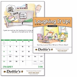 Promotional Laughing It Up Wall Calendar | Care Promotions
