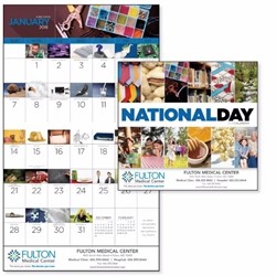 National Day Appointment Wall Calendar | Care Promotions