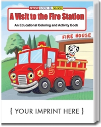 Promotional Coloring Books | Custom Educational Coloring Activity ...