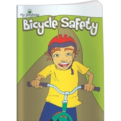 Bicycle Safety My Storybooks Bicycle Safety My Storybooks, Imprinted, Personalized, Promotional, with name on it, Giveaway, BetterLifeLine, BetterLife, Education, Educational, information, Informational, Wellness, Guide, Brochure, Paper, Low-cost, Low-Price, Cheap, Instruction, Instructional, Booklet, Small, Reference, Interactive, Learn, Learning, Read, Reading, Health, Well-Being, Living, Awareness, MyStorybook, Story, Book, Comic, Kid, Child, Children, Storytelling, Telling, Storyline, School, Cartoon, Bedtime, Bed