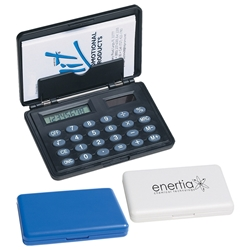 Business Card Holder & Calculator Business Card Holder and Calculator, Business, Card, Holder, and, Calculator, Imprinted, Personalized, Promotional, with name on it, giveaway,