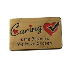 Caring is the Business We Have Chosen Lapel Pin Healthcare Recognition Lapel Pin, Care Lapel Pin, Nurses Lapel Pin, Nursing Lapel Pin, Hospital Lapel Pin,