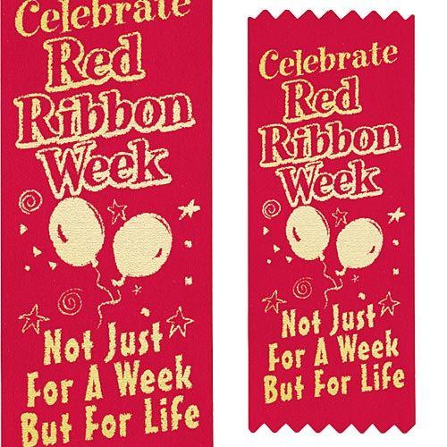 Red Ribbon Week 2017 | Drug Prevention Giveaways | Care Promotions