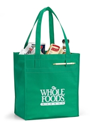 Deluxe Grocery Shopper  Promotional, Imprinted, Laminated, Totes, Vita, Shoppers, Supermarket, Tote, Shoulder Strap,