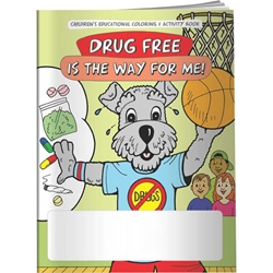 Drug Free is the Way for Me! Coloring Book Drug Free is the Way for Me! Coloring Book, Red Ribbon Ideas, Coloring Book, Activities Book,Imprinted, Personalized, Promotional, with name on it, Giveaway, BetterLifeLine, BetterLife, Education, Educational, information, Informational, Wellness, Guide, Brochure, Paper, Low-cost, Low-Price, Cheap, Instruction, Instructional, Booklet, Small, Reference, Interactive, Learn, Learning, Read, Reading, Health, Well-Being, Living, Awareness, ColoringBook, ActivityBook, Activity, Crayon, Maze, Word, Search, Scramble, Entertain, Educate, Activities, Schools, Lessons, Kid, Child, Children, Story, Storyline, Stories, Drugs, Alcohol, Smoke, Tobacco, Smoking, Cigarettes, Lungs, Cancer, Drinking, Drink, Booze, Liquor, Beer, Say No, DARE, SADD, MADD,