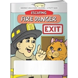 Escaping Fire Danger Coloring Book Escaping Fire Danger Coloring Book, BetterLifeLine, BetterLife, Education, Educational, information, Informational, Wellness, Guide, Brochure, Paper, Low-cost, Low-Price, Cheap, Instruction, Instructional, Booklet, Small, Reference, Interactive, Learn, Learning, Read, Reading, Health, Well-Being, Living, Awareness, ColoringBook, ActivityBook, Activity, Crayon, Maze, Word, Search, Scramble, Entertain, Educate, Activities, Schools, Lessons, Kid, Child, Children, Story, Storyline, Stories, Fire, Safety, Burn, Fireman, Fighter, Department, Smoke, Danger, Forest, Station, Protect, Protection, Emergency, Firefighter, First Aid, Imprinted, Personalized, Promotional, with name on it, Giveaway,