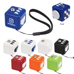 Custom Printed Fidget Fun Cube | Care Promotions