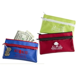 Free Range Utility Bag Utility Bag, Free, Range, Coupon Bag, zippered pouch, personal holder, wallet, imprinted, with name on it, with, logo,