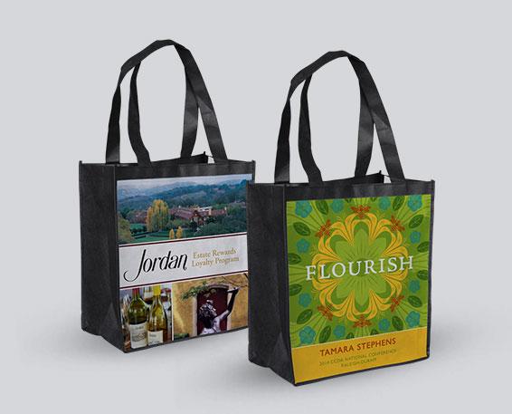 Full Color Non Woven Reusable Shopping Bags