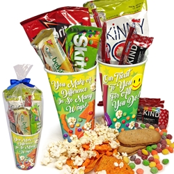Funtastic Employee Recognition and Appreciation Treat Cup   Employee Recognition Treat Set, Employee Snack Set, Appreciation Snack Pack, Recognition Teat Pack, Cup of Appreciation, Cup of Care Treat Set,