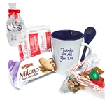 Holiday Hot Chocolate Spooner Mug Gift Set