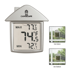 House Shape Thermometer House Shape Thermometer, House, Shape, Thermometer, Imprinted, Personalized, Promotional, with name on it, giveaway,