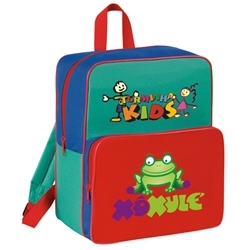 Kids Starter Backpack All Purpose, Kids, Starter, Pack, Sling, Backpack, Promotional, Imprinted, Polyester, Gift, Organizer
