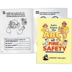 LETS LEARN THE ABCS OF FIRE SAFETY LETS LEARN THE ABCS OF FIRE SAFETY, Better Life Line, Fields, Education, Educational, information, Informational, Fire Safety, Guide, Brochure, Paper, Low-cost, Low-Price, Cheap, Instruction, Instructional, Booklet, Small, Reference, Interactive, Learn, Learning, Read, Reading, Health, Well-Being, Living, Awareness, ColoringBook, ActivityBook, Activity, Crayon, Maze, Word, Search, Scramble, Entertain, Educate, Activities, Schools, Lessons, Kid, Child, Children, Story, Storyline, Stories, Fire, Safety, Burn, Fireman, Fighter, Department, Smoke, Danger, Forest, Station, Protect, Protection, Emergency, Firefighter, First Aid,Imprinted, Personalized, Promotional, with name on it, Giveaway,