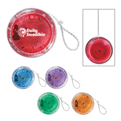 Light Up Yo-Yo Light Up Yo-Yo, Light, Up. Yo-Yo, Yo, Yo, Imprinted, Personalized, Promotional, with name on it, giveaway,