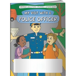 My Visit With a Police Officer Coloring Book My Visit With a Police Officer Coloring Book, BetterLifeLine, BetterLife, Education, Educational, information, Informational, Wellness, Guide, Brochure, Paper, Low-cost, Low-Price, Cheap, Instruction, Instructional, Booklet, Small, Reference, Interactive, Learn, Learning, Read, Reading, Health, Well-Being, Living, Awareness, ColoringBook, ActivityBook, Activity, Crayon, Maze, Word, Search, Scramble, Entertain, Educate, Activities, Schools, Lessons, Kid, Child, Children, Story, Storyline, Stories, Jail, Prison, Law, Legal, Elementary, Imprinted, Personalized, Promotional, with name on it, Giveaway,