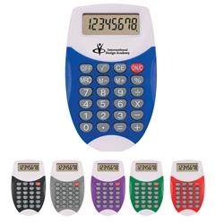 Oval Calculator Oval Calculator, Oval, Calculator, Imprinted, Personalized, Promotional, with name on it, giveaway,