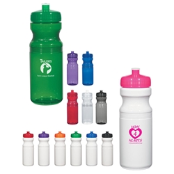 Poly-Clear™ 24 Oz. Fitness Bottle Poly-Clear™ 24 Oz. Fitness Bottle, Poly-Clear, Poly, Clear, Fitness, Bottle, Water Bottle, Sports,Imprinted, Personalized, Promotional, with name on it,
