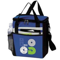 Rocket 12 Pack Cooler Rocket, 12 Pack Cooler, Plus, Continental Marketing, Care Promotions, Lunch Bag, Insulated, Barrel, Travel, Employee, Nurses, Teachers, Volunteers, Healthcare, Staff Gifts