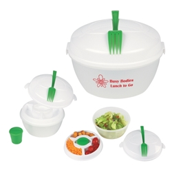 Salad Bowl Set  Salad Bowl, Set, 3-piece, Salad, Shaker, Imprinted, Personalized, Promotional, with name on it, giveaway,