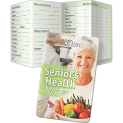 Seniors Health Organizer Key Points Seniors Health Organizer Key Points, Pocket Pal, Record, Keeper, Key, Points, Imprinted, Personalized, Promotional, with name on it, giveaway, BetterLifeLine, BetterLife, Education, Educational, information, Informational, Wellness, Guide, Brochure, Paper, Low-cost, Low-Price, Cheap, Instruction, Instructional, Booklet, Small, Reference, Interactive, Learn, Learning, Read, Reading, Health, Well-Being, Living, Awareness, KeyPoint, Wallet, Credit card, Card, Mini, Foldable, Accordion, Compact, Pocket, Aging, Elderly, Elder, Old, Retirement, Senior