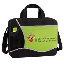 Thank You For The Lives You Touch, We Appreciate You So Much! Cross Brief Bag  Canvas, Cross, Expandable, Briefcase, Volunteers, Nurses, Teachers, Staff, Healthcare, Messenger, Conference, Brief, Bag, Promotional, Events, All Purpose, Imprinted, Reusable
