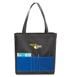 Universal Non-Woven Convention Tote  Promotional, Imprinted, Laminated, Totes, Vita, Shoppers, Supermarket, Tote, Shoulder Strap,
