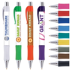 Vision Grip (Free Setup Charge & 4 Color Process!)   Full Color Pen, 4 color process pen, full color grip pen, Vision pen,  Imprinted, Personalized, Promotional, with name on it