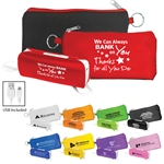 "We Can Always ""Bank"" On You! Thanks For All You Do! UL Flashlight Power Bank Set"