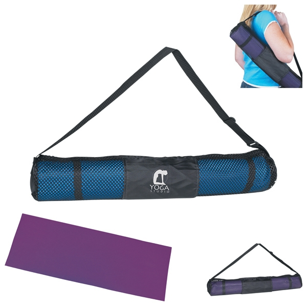 Yoga Bags - Yoga Mat Bags For a discipline with so many known benefits, yoga requires surprisingly few pieces of equipment and accessories. One essential accessory is a yoga bag, which is specifically designed to keep your equipment organized and accessible.