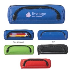 Zippered Pencil Case Zippered Pencil Case, Polyester, Zippered, Pencil, Case, Pen, Highlighter, Plastic, Ballpoint, Imprinted, Personalized, Promotional, with name on it, giveaway,