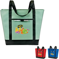 eGreen Boat Bag Grocery bag, Boat, Conference, Versatile, Giveaway, Promotional, Events, Trade Show, Health Fair, Non Woven, Polypropylene, All Purpose, Imprinted, Tote, eGREEN, Eco-Friendly, Supermarket, Reusable