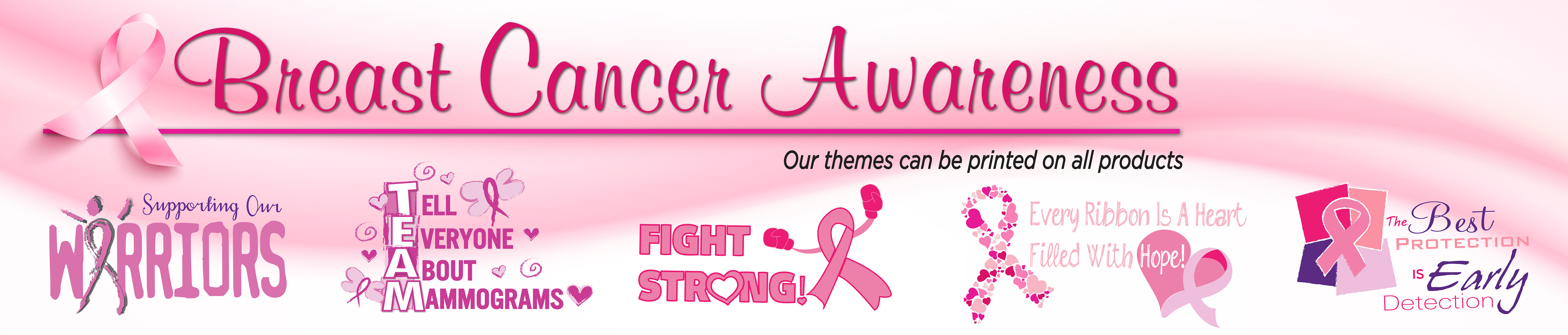 Breast Cancer Awareness Merchandise Slogans | Care Promotions