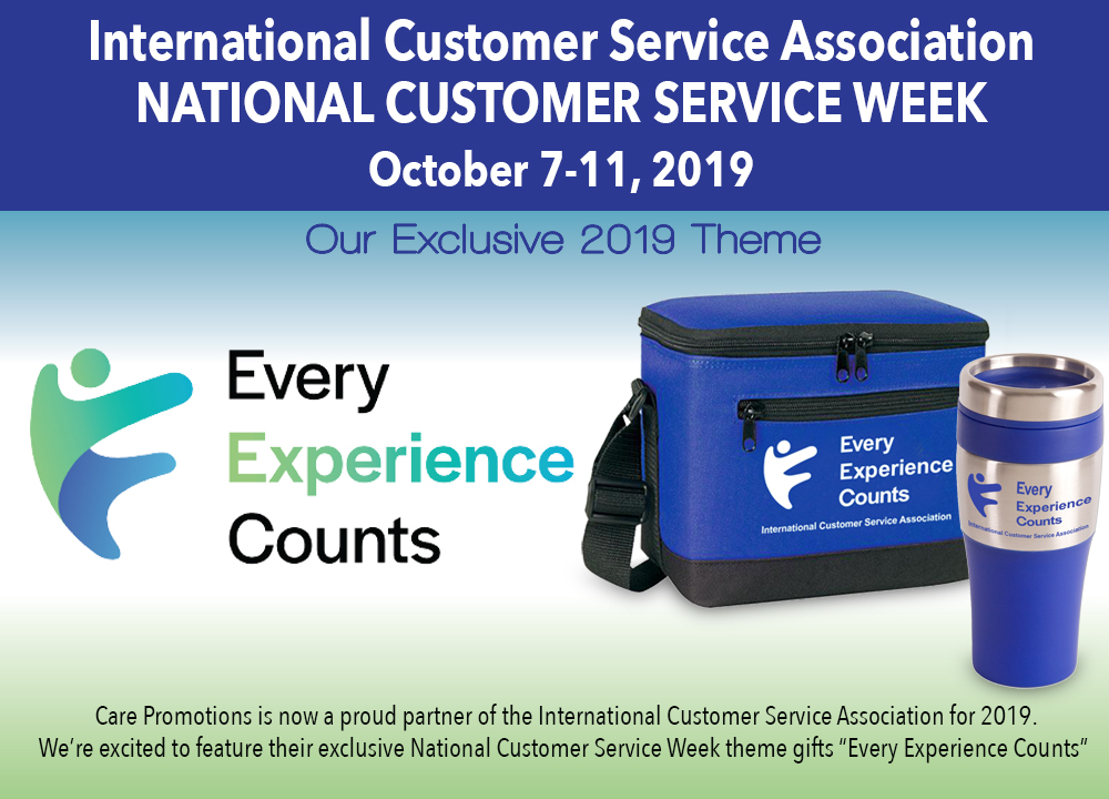 "International Customer Service Association ""Every Experience Counts"" Theme Products"