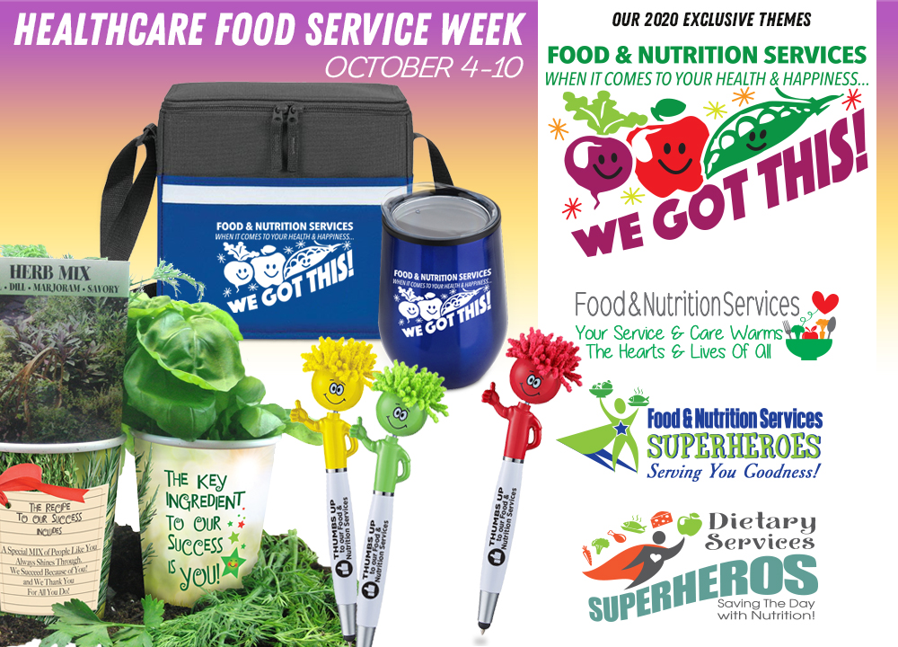 Food Service Week Gifts 2020 | Care Promotions