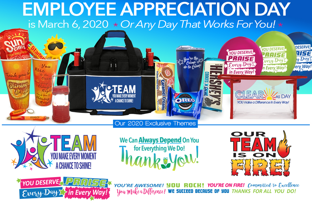 Employee Appreciation Day Gift Ideas Staff Recognition Gifts Care Promotions