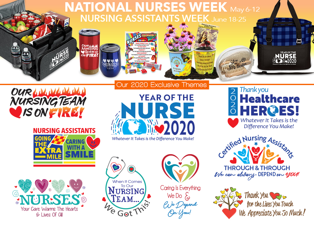 National Nurses Week 2019 Appreciation Themes | Care Promotions