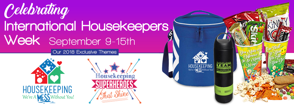 International Housekeeping Week Gifts 2018 | Care Promotions