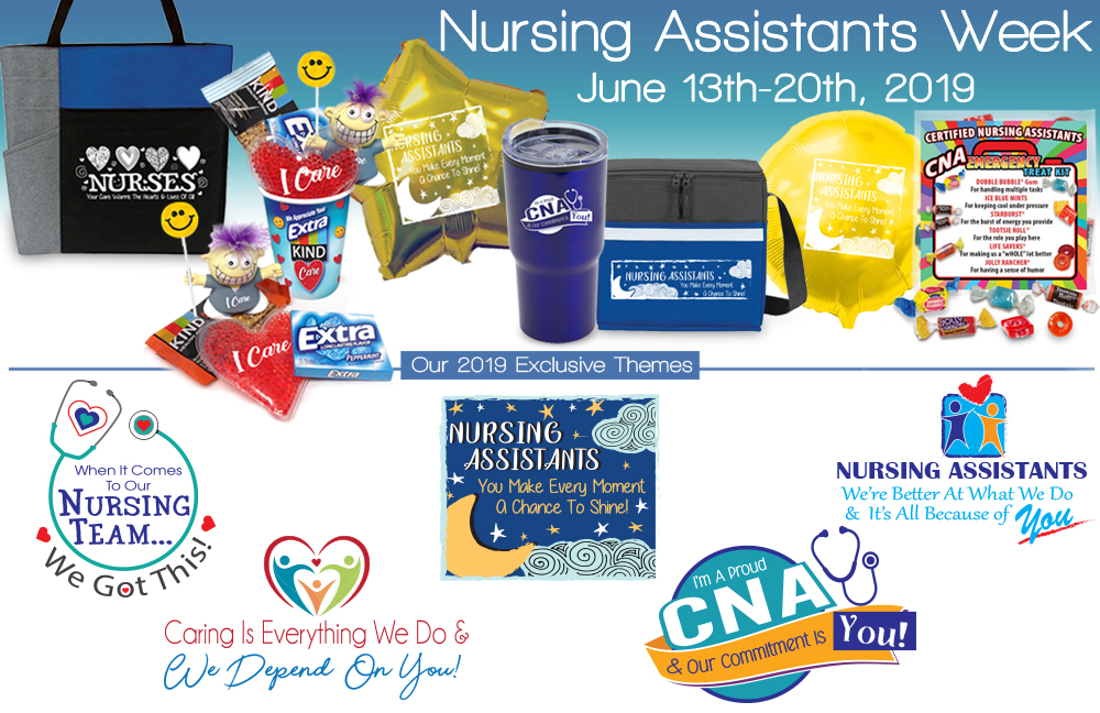 0195e6f7c National Nursing Assistants Week Gifts | CNA Week Gifts | Care Promotions