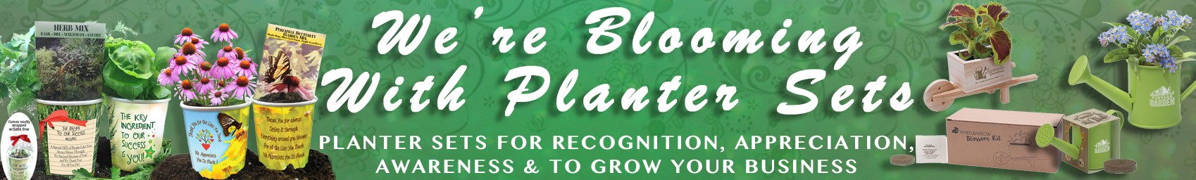 Appreciation Planter Gift Sets & Garden Promotional Products | Care Promotions