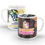 11 oz SimpliColor Mug - Full Color Imprint  11 oz, ceramic mug, full, color, logo,  4 Color Process, Imprinted, Personalized, Promotional, with name on it