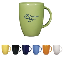 12 Oz. Europa Mug 12 Oz. Europa Mug, 12 oz., Europa, Mug, Coffee, Ceramic, Desk, Colors, with, Imprinted, Personalized, Promotional, with name on it, Gift Idea, Giveaway,