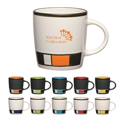 14 Oz. Color Block Ceramic Mug 14 Oz. Color Block Ceramic Mug, 14 oz, Color, Block, Ceramic, Mug, Coffee, Colorful, Desk, Beverage,Imprinted, Personalized, Promotional, with name on it, Gift Idea, Giveaway,