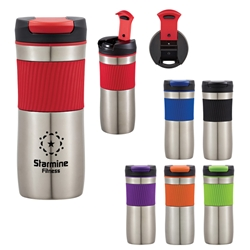 17 Oz. Excursion Stainless Steel Tumbler  17 Oz Stainless Steel Tumbler, Stainless Steel Mug, Travel Mug, Imprinted, Personalized, Promotional, with name on it