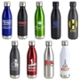 17oz Vacuum Insulated Stainless Steel Bottle Vacuum Sealed Bottles, Vacuum Top Bottle, Imprinted Vacuum Sealed Bottles, Stainless Steel Vacuum Sealed bottle, Care Promotions,